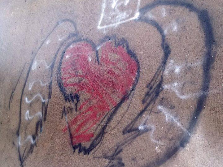Graffiti at the City of Pembroke's waterfront
