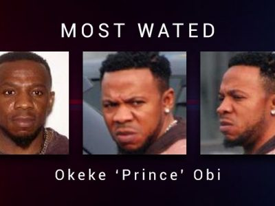 Crime Stoppers Needs Your Help in Locating — Okeke 'Prince' Obi  Copy